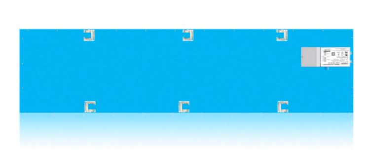 Picture of 1'X4' Edge-Lit Flat panel 4000K