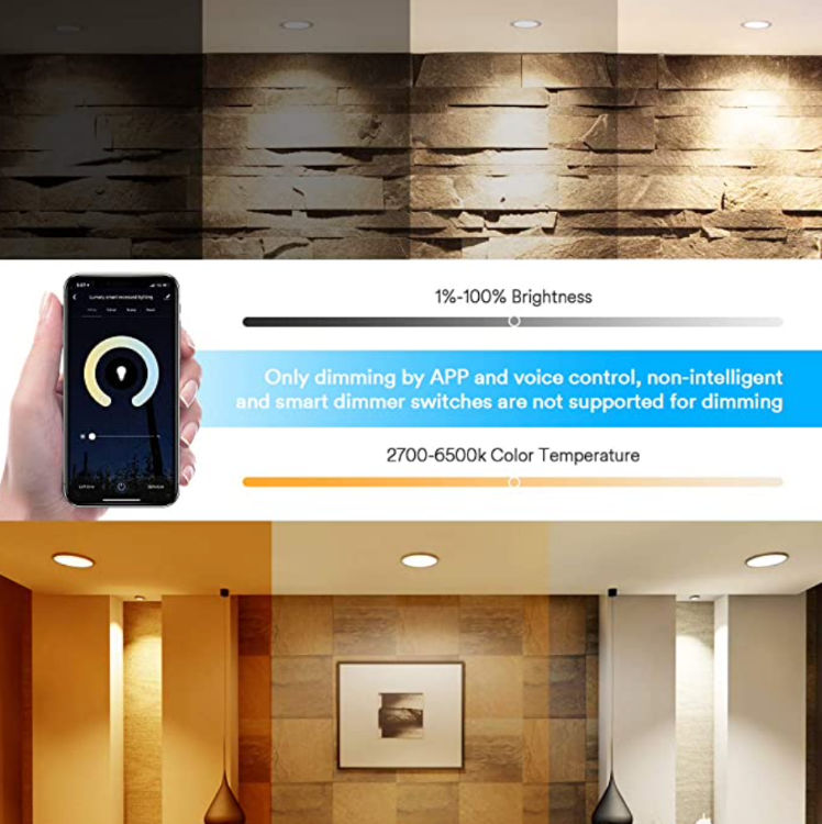 Picture of WIFI Smart Ultra-slim Downlight Round
