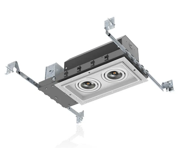 Picture of LED COB Twin head downlight TRIMLESS