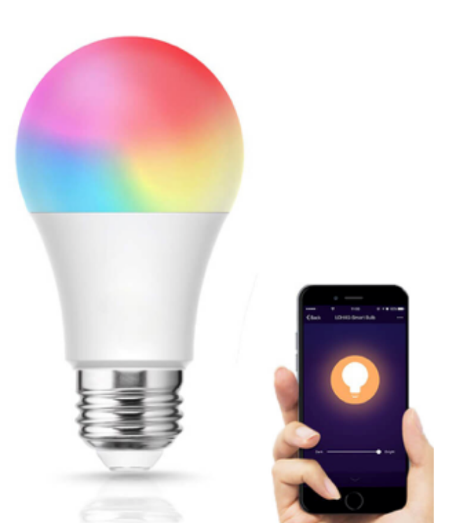 Picture of LED A19 RGB Wifi Bulb 9W