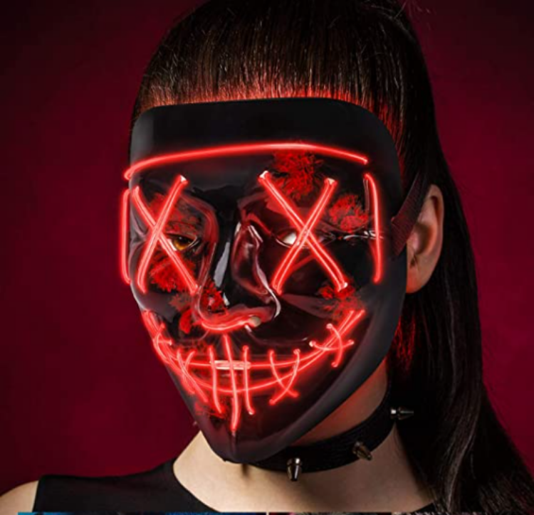Picture of Wire Light Mask Red