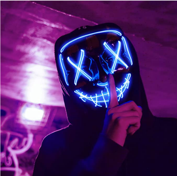 Picture of Wire Light Mask Blue