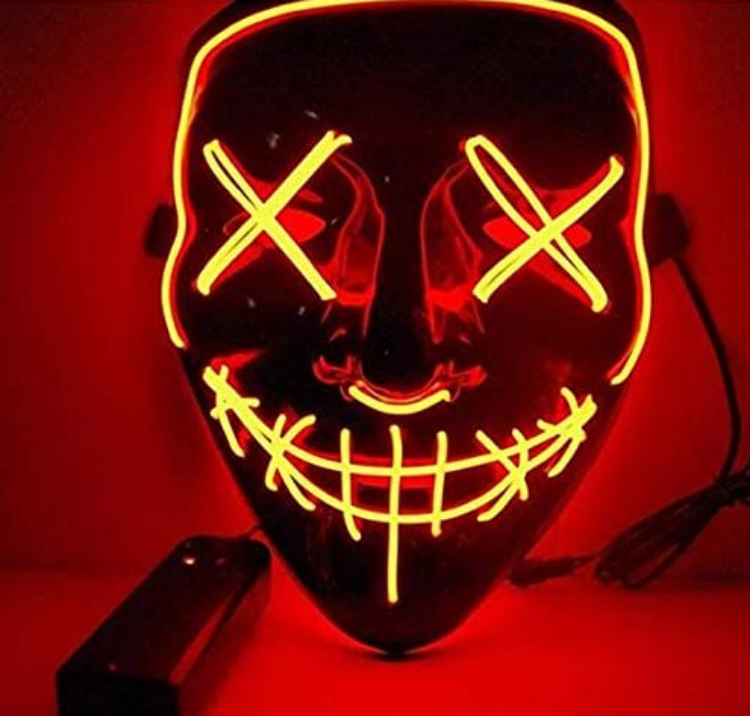 Picture of Wire Light Mask Yellow